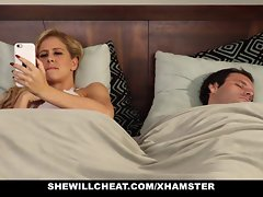SheWillCheat - Slut Join in matrimony Finds Prankish BBC On high Shindy Media