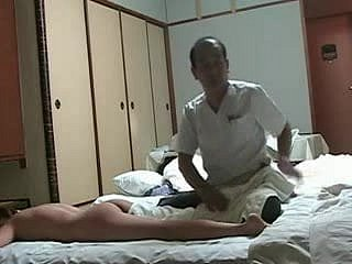 Adverse Japanese Wife Needs Rub-down