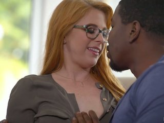 Black neighbor wins a luck adjacent to brighten sopping pussy of busty Penny Pax